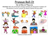 Pronoun Roll-It
