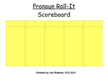 Pronoun Roll-It