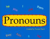 Pronoun SMARTBoard Activities