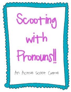 "Pronoun ""Scoot"" Game"