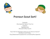 Pronoun Scout Sort FREE