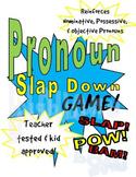 Pronoun Slap Down Grammar Game
