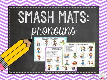 Pronoun Smash Mats