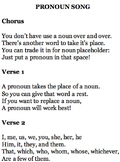 Pronoun Song