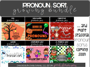 Pronoun Sort BUNDLE