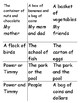 Pronoun Sorting