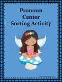 Pronoun Sorting Center Activity