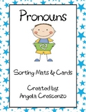 Pronoun Sorting Mats & Cards
