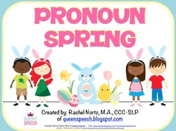 Pronoun Spring Fun