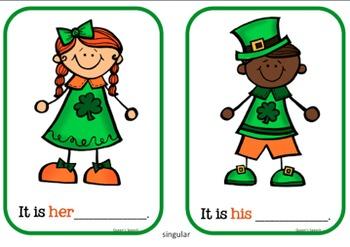 Pronoun St. Patrick's Day