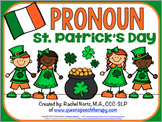 Pronoun St. Patrick's Day