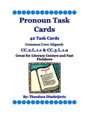 Pronouns: 42 CC L.2.1.c & CC L.3.1.a Common Core Task Cards