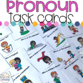 Pronoun Task Cards for Special Education
