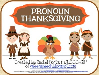 Pronoun Thanksgiving