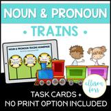Pronoun Trains Cards & No Print