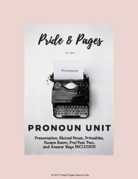 Pronoun Unit