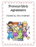 Pronoun Verb Agreement