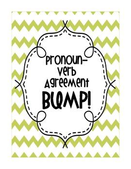 Pronoun-Verb Agreement BUMP!