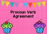 Pronoun Verb Agreement Boom Cards