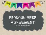 Pronoun-Verb Agreement Interactive PDF/PPT