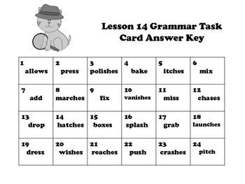 Pronoun Verb Agreement Task Cards for Journeys 3rd Grade