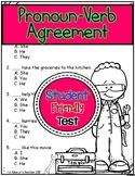Pronoun-Verb Agreement Test