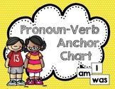 Pronoun Verb Anchor Chart