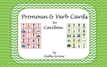 Pronoun & Verb Cards for Cariboo