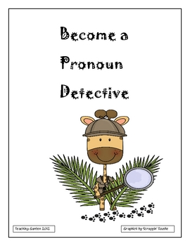 Pronoun Word Detective