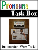 Pronoun Work Task Box 14 Task Cards