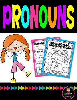 Pronoun Worksheets
