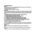 Pronoun Writing Assignment