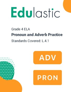 Pronoun and Adverb Practice Set 2 (Technology Enhanced)
