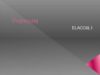 Pronoun and Antecedent Game