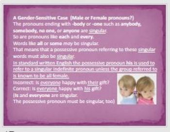 Pronoun and Antecedent and Subject and Verb Agreement Powerpoint