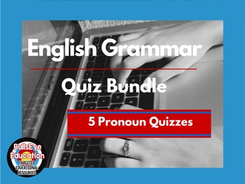 Pronoun and SV Agreement Practice and Quizzes Bundle