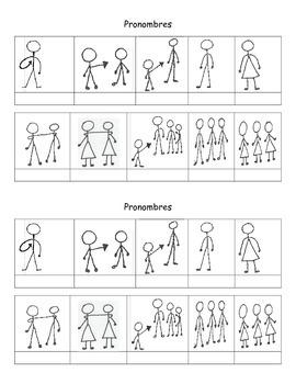 Pronoun handouts