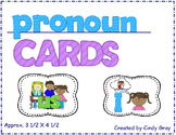 Pronoun Cards