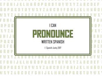 Pronouncing Spanish for Beginners (PowerPoint and Guided Notes)