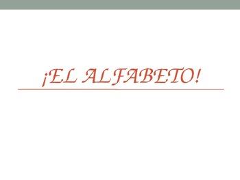 Pronouncing Spanish Words (LL H J CH RR Ñ) + The Alphabet Powerpoint