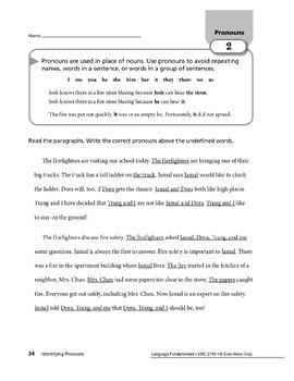 Pronouns 01: Identifying Pronouns