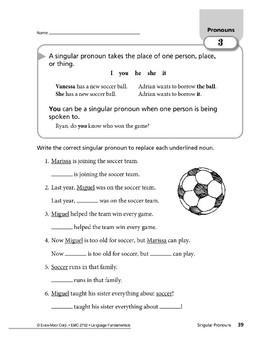 Pronouns 02: Singular and Plural Pronouns