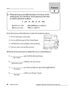 Pronouns 03: Subject and Object Pronouns