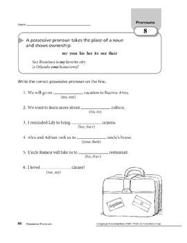 Pronouns 04: Possessive Pronouns