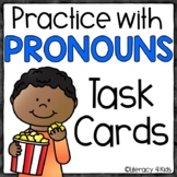 Pronouns Task Cards for Second and Third Graders