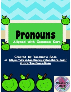 Pronouns for First Grade