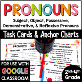 Pronouns Task Cards and Anchor Charts