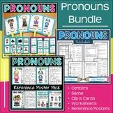 Pronouns Unit Lesson Plans | Instructional Aids | Worksheets | Center Activities