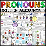 Pronouns Games {Subject and Object Pronouns, Possessive Pronouns, Relative...}