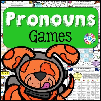 Pronouns Games {Subject and Object Pronouns, Possessive Pronouns, Relative...}